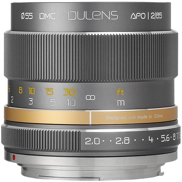 上品なスタイル 毒鏡 DULENS APO 85mm F2 キヤノンEFマウント (グレー) [交換レンズ], 東郷町 439e2e75