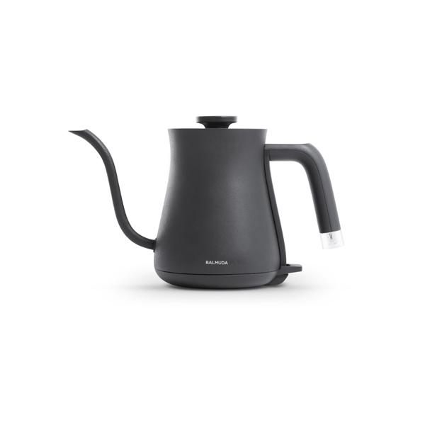 研究しつくされたハンドリングと注ぎやすいノズルの形で 湯切れがよくコントロールしやすいため コーヒーのハンドドリップに最適です ケトル 電気ケトル ポット おしゃれ シンプル カフェ 0.6L 結婚祝い バルミューダ Pot The K02A-BK BALMUDA 引っ越し祝い オンラインショップ 湯沸かしポット 完全送料無料 ブラック