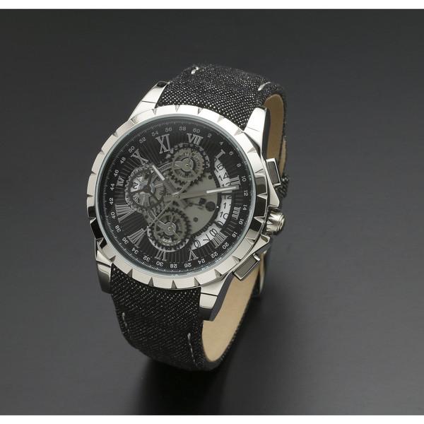 Salvatore Marra SM13119D-SSBK/BK [腕時計 (クオーツ・メンズ)]