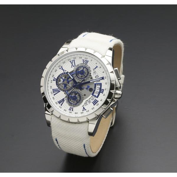 【送料無料】Salvatore SM13119D-SSWHBL/WH Marra SM13119D-SSWHBL Marra/WH [腕時計 [腕時計 (クオーツ・メンズ)], 公式:690d5feb --- sunward.msk.ru
