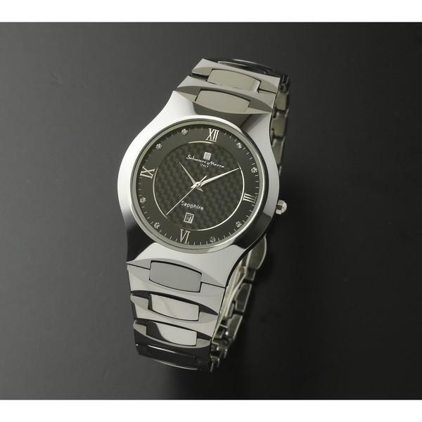 Salvatore Marra SM17103-SVBK [腕時計 (クオーツ・メンズ)]