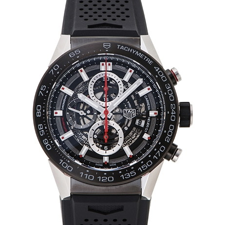 【送料無料】TAG HEUER(タグホイヤー) CAR2A1Z.FT6044 カレラ キャリバー ホイヤー01 [自動巻き腕時計 (メンズ)] 【並行輸入品】