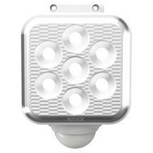 バッテリー切れ防止自動省エネモード ムサシ S-110L 優先配送 フリーアーム式 LEDソーラーセンサーライト 5W×1灯 新商品 新型 プレミアム