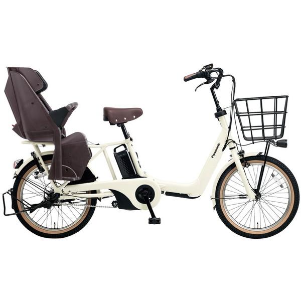 【送料無料】PANASONIC BE-ELA03-AF オフホワイト ギュット・アニーズ [電動自転車(20インチ・内装3段変速)]【同梱配送不可】【代引き不可】【本州以外配送不可】