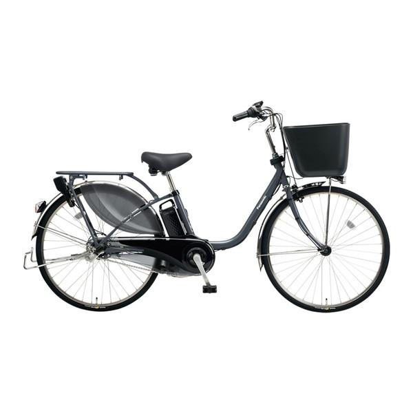 【送料無料】PANASONIC BE-ELKD43-N メタリックグレー ビビKD [電動アシスト自転車(24インチ・内装3段)]【同梱配送不可】【代引き不可】【本州以外配送不可】