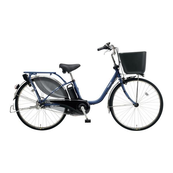 【送料無料】PANASONIC BE-ELKD43-V インディゴブルーメタリック ビビKD [電動アシスト自転車(24インチ・内装3段)]【同梱配送不可】【代引き不可】【本州以外配送不可】