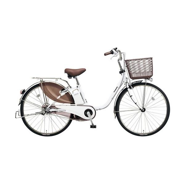 【送料無料】PANASONIC BE-ELD434-F アクティブホワイト ビビDX [電動アシスト自転車(24インチ・内装3段)]【同梱配送不可】【代引き不可】【本州以外配送不可】