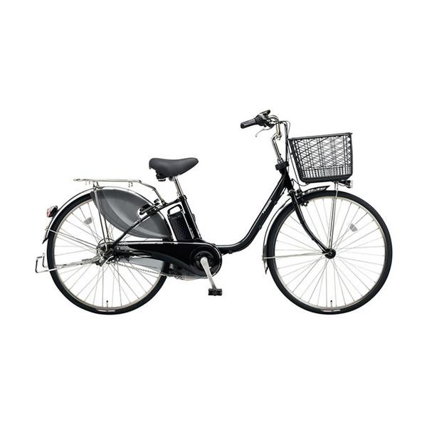 【送料無料】PANASONIC BE-ELD634-B ピュアブラック ビビDX [電動アシスト自転車(26インチ・内装3段)]【同梱配送不可】【代引き不可】【本州以外配送不可】