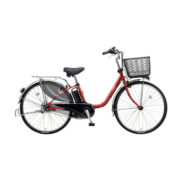 【送料無料】PANASONIC BE-ELD634-R パールクリアレッド ビビDX [電動アシスト自転車(26インチ・内装3段)]【同梱配送不可 ビビDX】【代引き不可】【本州以外配送不可】, グットライフショップ:5786996f --- idelivr.ai