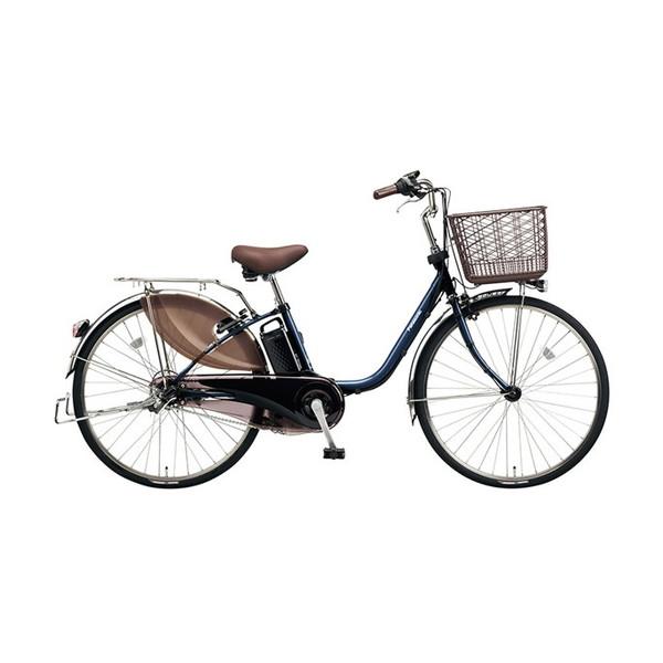 【送料無料】PANASONIC BE-ELD634-V USブルー ビビDX [電動アシスト自転車(26インチ・内装3段)]【同梱配送不可】【代引き不可】【本州以外配送不可】