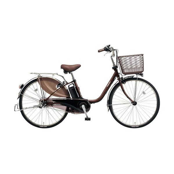【送料無料】PANASONIC BE-ELD634-T チョコブラウン ビビDX [電動アシスト自転車(26インチ・内装3段)]【同梱配送不可】【代引き不可】【本州以外配送不可】