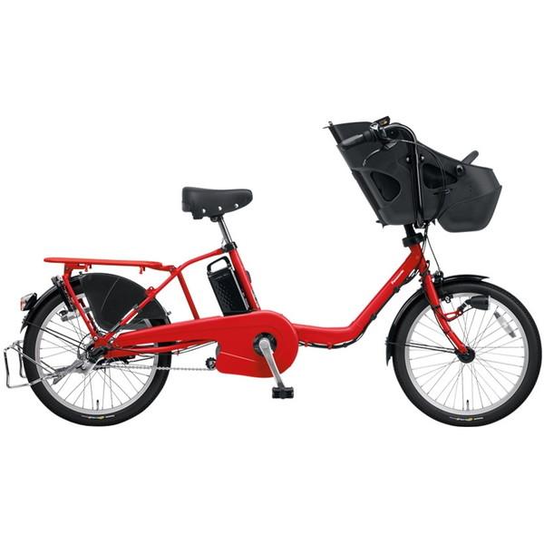 【送料無料】PANASONIC BE-ELMD034-R2 ロイヤルレッド ギュット・ミニ・DX [電動自転車(20インチ・内装3段変速)]【同梱配送不可】【代引き不可】【本州以外配送不可】
