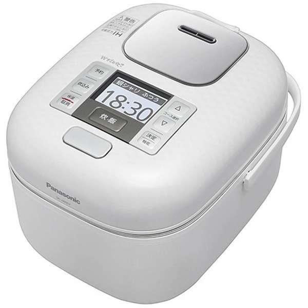 【送料無料】PANASONIC SR-JW057-W 豊穣ホワイト Wおどり炊き [可変圧力IH炊飯器 (3合炊き)]