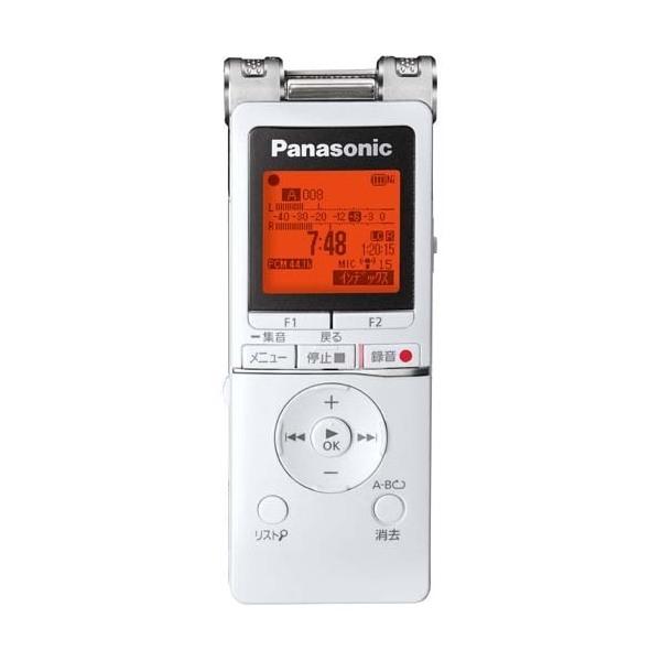 PANASONIC RR-XS470-W ホワイト [ワイドFM対応 ICレコーダー (8GB)]