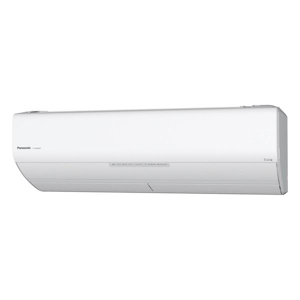 【送料無料】PANASONIC CS-WX568C2-W クリスタルホワイト エオリア WXシリーズ [エアコン(主に18畳用・単相200V対応)]