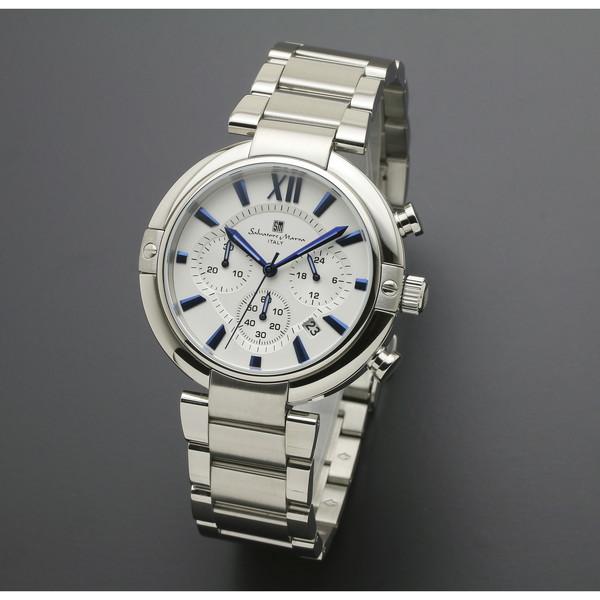 【送料無料】Salvatore Marra SM17106-SSWH [腕時計 (クオーツ・メンズ)]