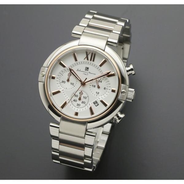 【送料無料】Salvatore Marra SM17106-PGWH [腕時計 (クオーツ・メンズ)]