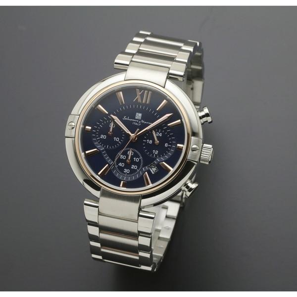 【送料無料】Salvatore Marra SM17106-PGBL [腕時計 (クオーツ・メンズ)]