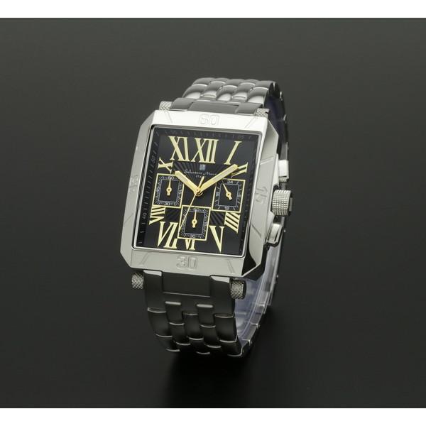 【送料無料】Salvatore Marra SM17117-SSBKGD ブラック/ゴールド [クォーツ腕時計 (メンズ)]