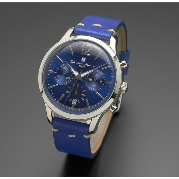 【送料無料】Salvatore Marra SM17110-SSBL [腕時計 (クオーツ・メンズ)]