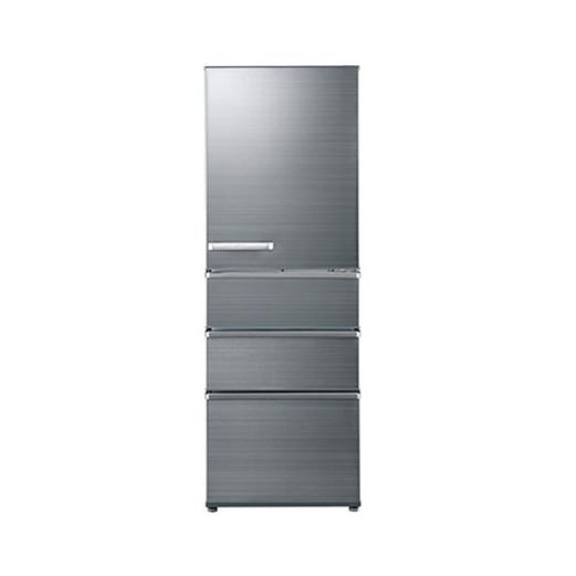 【送料無料】AQUA AQR-SV36G-S チタニウムシルバー [冷蔵庫 (355L・右開き)]