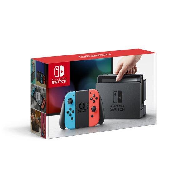 【送料無料】任天堂 Nintendo Switch Joy-Con(L)ネオンブルー/(R)ネオンレッド [ゲーム機本体]