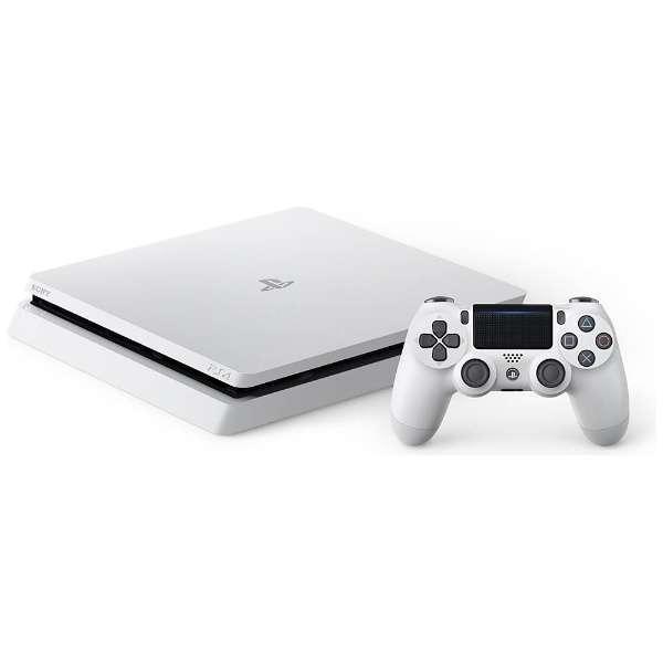 【送料無料】SONY CUH-2100AB02 グレイシャー・ホワイト PlayStation 4 [ゲーム機本体 (HDD500GB)] CUH2100AB02