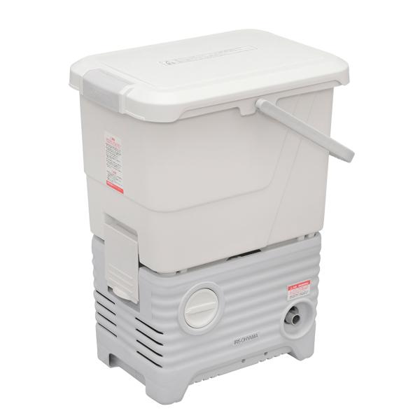 【送料無料】アイリスオーヤマ SBT-512NS ホワイト [タンク式高圧洗浄機洗車セット]