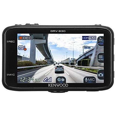 KENWOOD DRV-830 駐車監視対応 常時録画 高画質 WQHD画質 GPS HDR microSDカード16GB付属 電波干渉対策 ノイズ対策済み 運転支援 フルHD あおり運転 録画 安心 安全