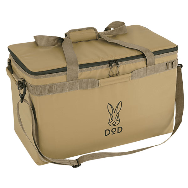 軽量で持ち運びしやすい。大型サイズのソフトクーラーバッグ。 DOD クーラーバッグ クーラーボックス 46L ソフトくらぞう (46) CL5-789-TN タン アウトドア キャンプ レジャー BBQ バーベキュー