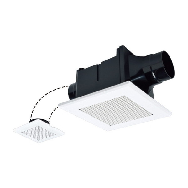 半額 新作販売 グリル部にデュアルバリアマテリアル採用 三菱ライフネットワーク VD-10ZFLC12 2部屋用低騒音形 天井埋込形換気扇
