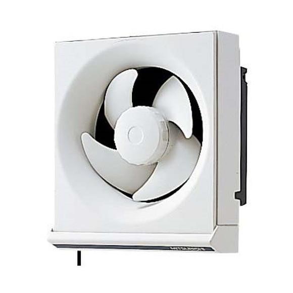 ショッピング 引きひもつまみ部が抗菌仕様です 三菱ライフネットワーク EX-15KH7 連動式 人気ブランド多数対象 一般住宅用 標準換気扇