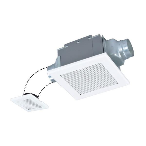 グリル部にデュアルバリアマテリアル採用 限定特価 授与 三菱ライフネットワーク VD-15ZF12-BL ダクト用換気扇 天井埋込形