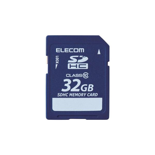 万が一の時でも無償でデータを復旧 1年間の保証期間内に1回限り無償でデータ復旧サービスを利用できるSDHCメモリカードです ELECOM MF-FSD032GC10R Class10 SDHCカード 現金特価 格安激安 データ復旧サービス付 32GB