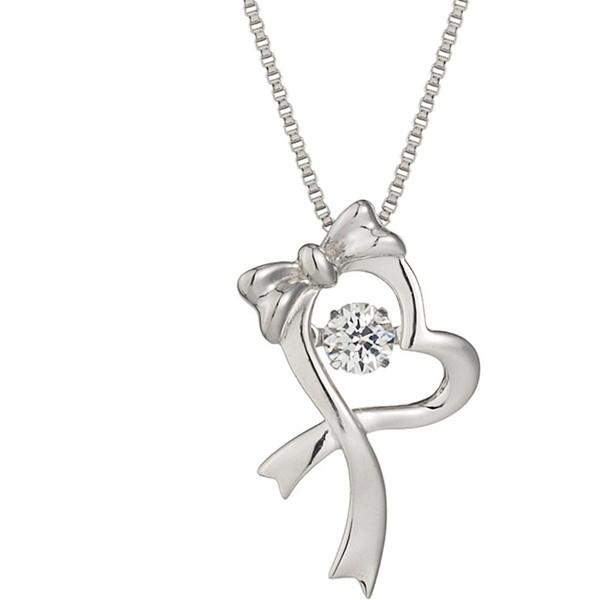 【送料無料】Crossfor New York クロスフォーニューヨーク NYP-538 Dancing Gift heart [ペンダント]