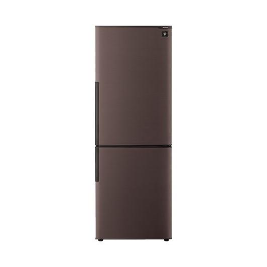【送料無料】冷蔵庫 シャープ(SHARP) プラズマクラスター SJ-PD27D-T ブラウン系 271L 2ドア 右開き ナノ低温脱臭触媒採用により気になるニオイ雑菌を抑制 節電モード搭載