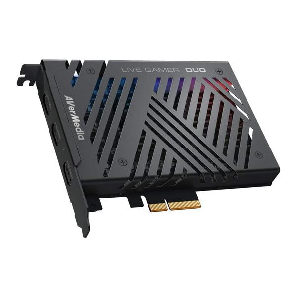 デュアル1080p 60fpsに対応したキャプチャーボード AVERMEDIA GC570D Live Gamer DUO 人気上昇中 パススルー ゲームキャプチャー キャプチャーボード ビデオキャプチャー 内蔵型ゲームキャプチャーボード 4K対応 価格交渉OK送料無料