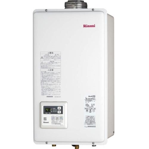 【送料無料】Rinnai RUX-V2015SFFUA-E-LP [ガス給湯器 (プロパンガス用 給湯専用 20号 屋外壁掛型)]
