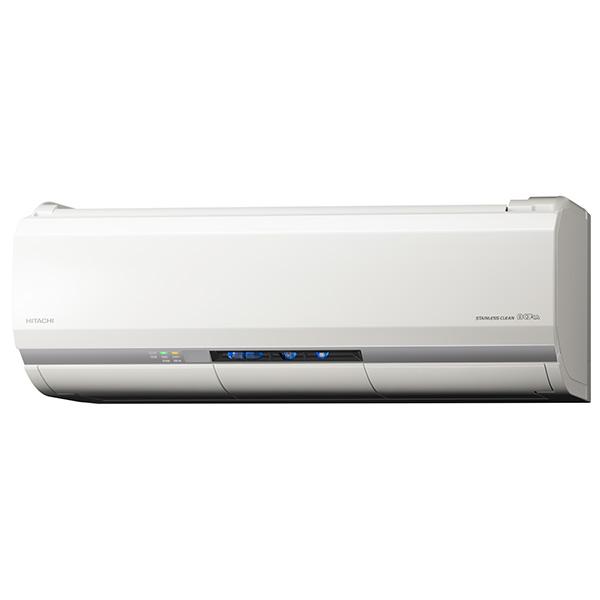 【送料無料】日立 RAS-ZJ63H2(W) ホワイト 白くまくん ZJシリーズ [エアコン(主に20畳用・単相200V対応)]