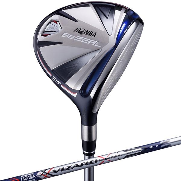 【送料無料】本間ゴルフ(HONMA) BEZEAL(ビジール)535 フェアウェイウッド VZ-BeZEAL カーボンシャフト #5 R