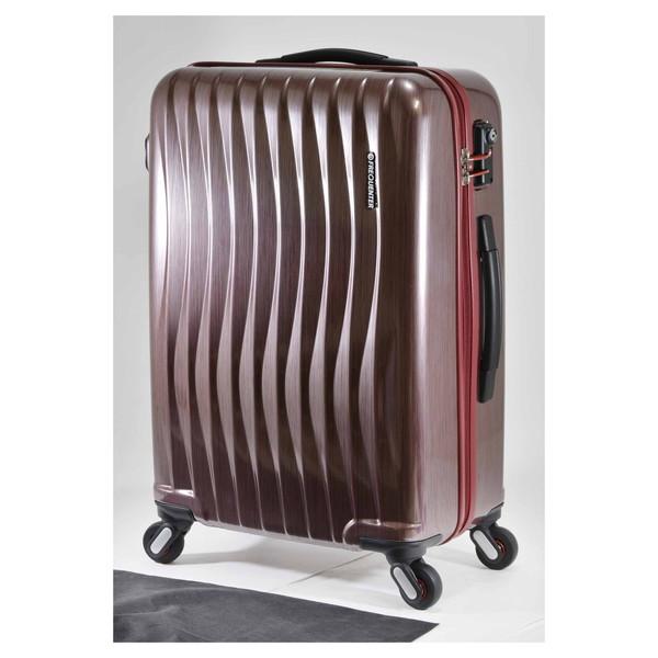 【送料無料】エンドー鞄 1-621-HLRD FREQUENTER WEVE ファスナータイプ58cm ラインレッド [スーツケース(56L)]