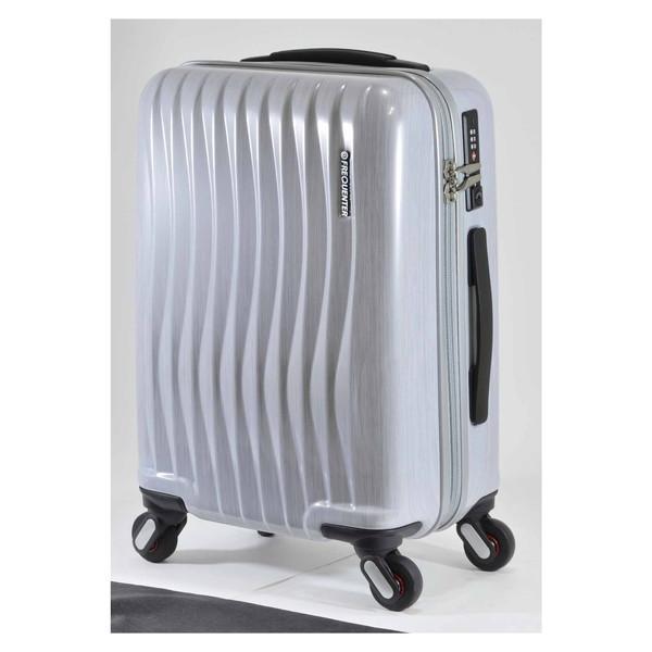 【送料無料】エンドー鞄 1-622-HLWH FREQUENTER WEVE ファスナータイプ47cm ラインホワイト [スーツケース(34L)]