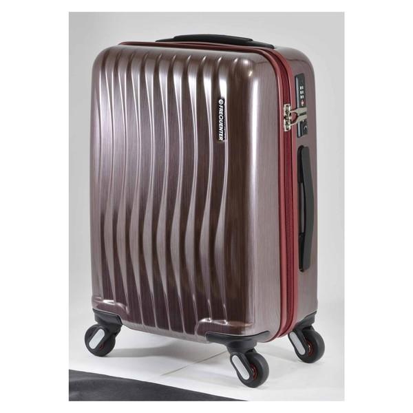 【送料無料】エンドー鞄 1-622-HLRD FREQUENTER WEVE ファスナータイプ47cm ラインレッド [スーツケース(34L)]