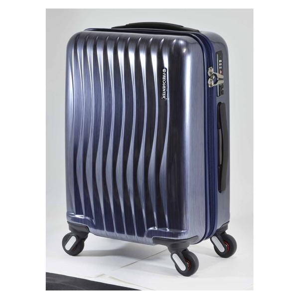 【送料無料】エンドー鞄 1-622-HLNV FREQUENTER WEVE ファスナータイプ47cm ラインネイビー [スーツケース(34L)]