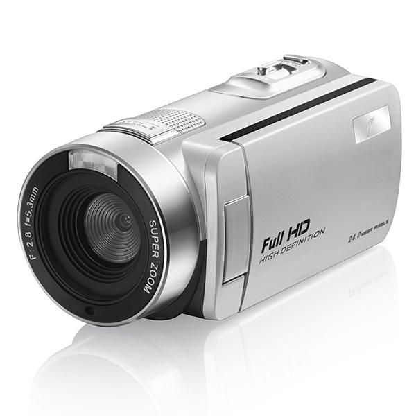 【送料無料】ジョワイユ JOY-F9CS8-PIRSV シルバー [フルハイビジョンデジタルビデオカメラ(SDカード・SDHCカード)]