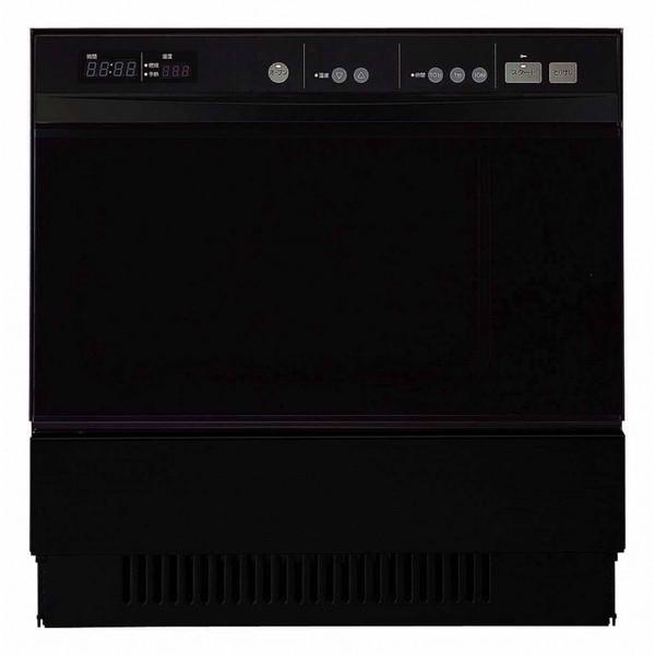 【送料無料】NORITZ NDR514C-13A ブラック 高速オーブン [ビルトインガスオーブン(都市ガス用/48L)]
