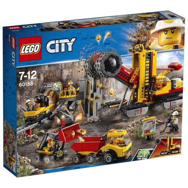 【送料無料】LEGO レゴシティ ゴールドハント 採掘場 60188