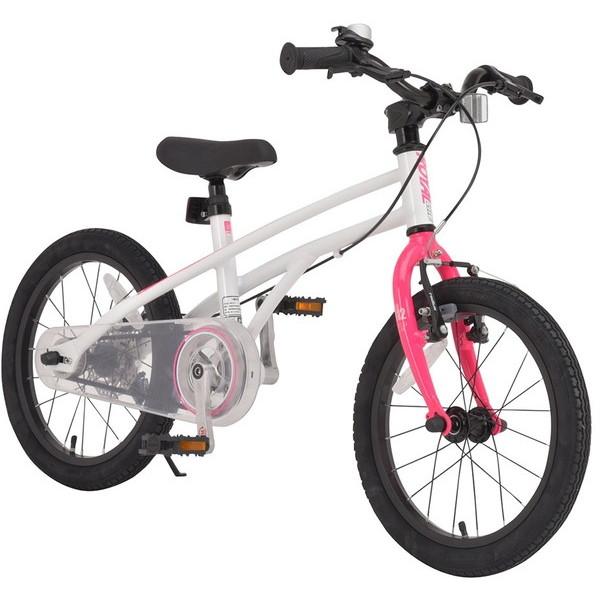 【送料無料】ROYAL BABY RB-WE H2 16 pink (37282) [子供用自転車(16インチ)スタンド付き] 【同梱配送不可】【代引き・後払い決済不可】【沖縄・北海道・離島配送不可】