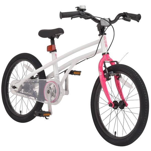 【送料無料】ROYAL BABY RB-WE H2 18 pink (37284) [子供用自転車(18インチ)補助輪付き]【同梱配送不可】【代引き不可】【沖縄・離島配送不可】