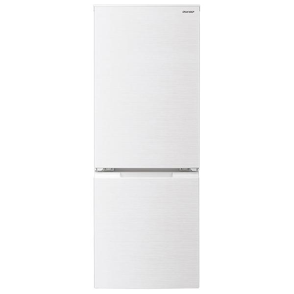 「つけかえどっちもドア」採用。面倒な霜取りも不要な179Lタイプの冷蔵庫です。 SHARP シャープ 冷蔵庫(179L・左右フリー) ホワイト系 つけかえどっちもドア 省エネ 脱臭 一人暮らし 小型 新生活 2ドア SJ-D18G-W SJD18GW レビューCP500